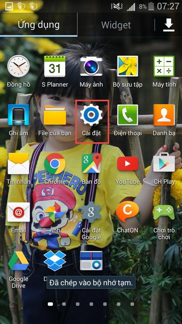 Cách cài đặt Proxy trên điện thoại Android - Getlink vn