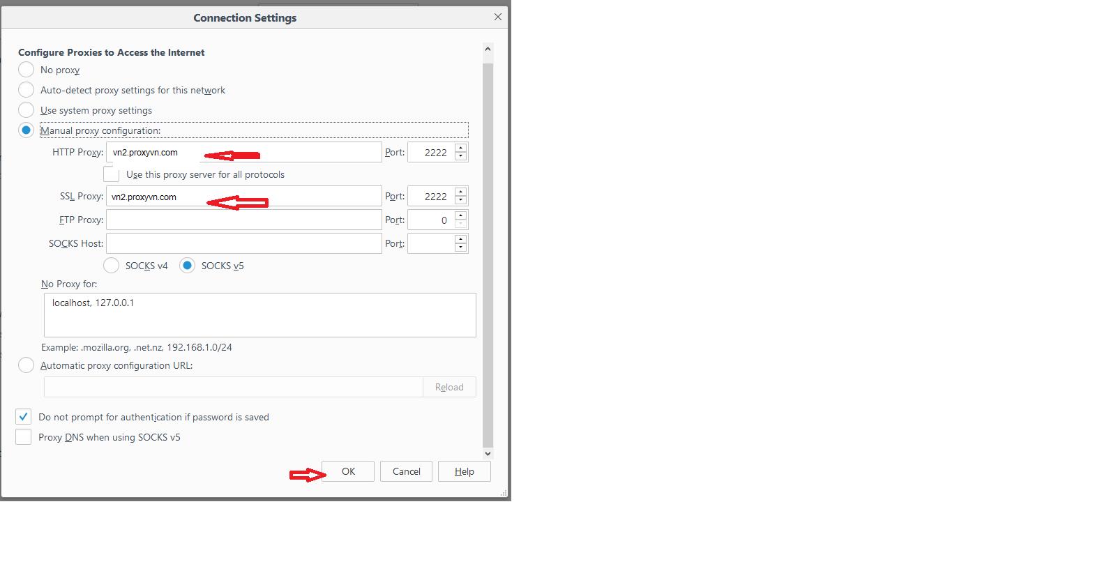 Cách cài đặt Proxy trên Firefox - Getlink vn
