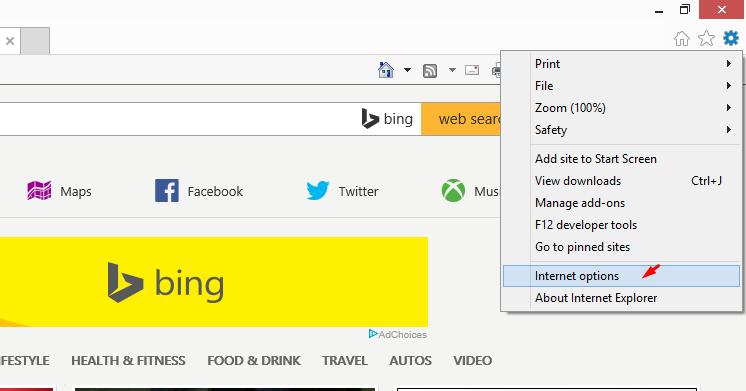 Cách cài đặt Proxy trên Internet Explorer - Getlink vn